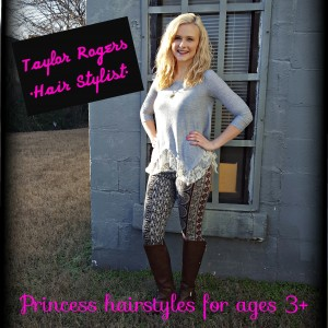 Princess Hair Parties - Hair Stylist / Children's Party Entertainment in Nashville, Tennessee
