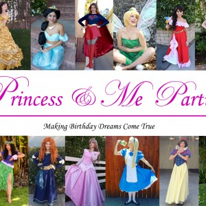 Princess & Me Parties - Princess Party in Sherman Oaks, California