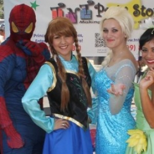 Princess Parties - TNT Party Stop - Children's Party Entertainment in Fresno, California