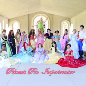Princess Pro Impersonator - Princess Party in Upland, California