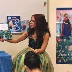 Princess specializing in storytelling