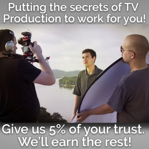 Prod 44 - Secrets of TV Production for you! - Video Services in North Richland Hills, Texas