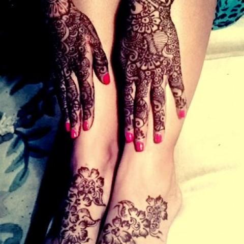 Hire professional mehendi henna artist henna tattoo for Henna tattoo richardson tx