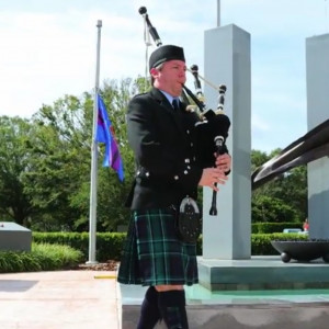 Professional Piper - Sean Buchta - Bagpiper in Tampa, Florida