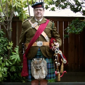 Professional Piper Iain Sherwood - Bagpiper in Waldport, Oregon