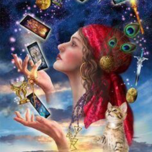 Psychic and tarot card readings
