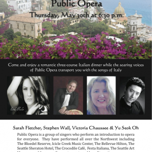 Public Opera - Opera Singer in Seattle, Washington