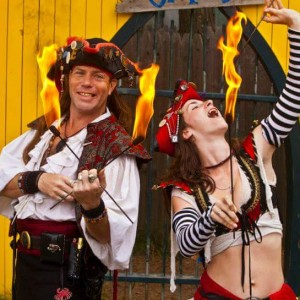 Pyro Pirates - Fire Eater / Circus Entertainment in Apache Junction, Arizona