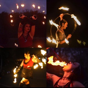 Angela Storm Moon - Fire Performer / Fire Eater in Tampa, Florida