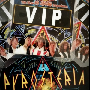 PYROSTERIA  The Def Leppard Tribute - Tribute Band / 1980s Era Entertainment in Phoenix, Arizona