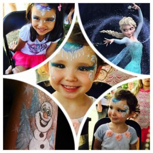 Quality Face Painting for your Special Events!