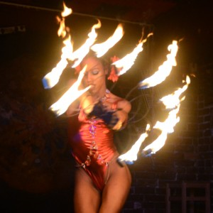 Queen Nefertittie ENT. - Fire Dancer in Washington, District Of Columbia