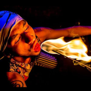 Ra Illumination - Fire Performer / Mime in Miami, Florida
