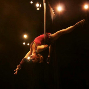 In the Dark Circus Arts - Aerialist in Baltimore, Maryland