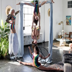 Rainbow Militia - Circus Entertainment / Stilt Walker in Denver, Colorado