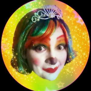 Rainbow rose the princess clown clown in richmond virginia