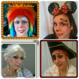 Rainbow Rosie the Face Painting Clown - Face Painter / Body Painter in Lindenhurst, New York