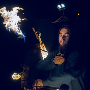 Raven Fire Manipulation - Fire Performer in Portland, Oregon
