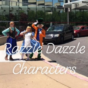 Razzle Dazzle Character Performance - Costumed Character in Jackson, South Carolina