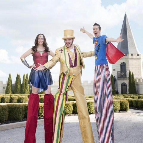 Twister Stilt Costume