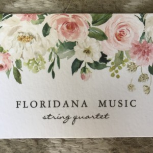 Floridana Music - String Quartet in Melbourne, Florida