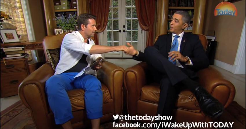 obama meet and greet parody
