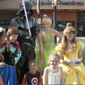 Rent a Party Character - Costumed Character / Princess Party in Aurora, Colorado