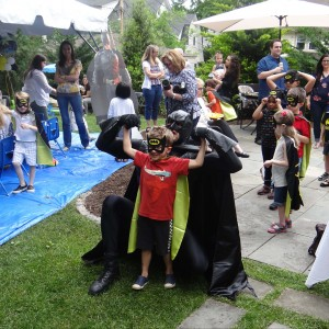 Rent Party Characters - Superhero Party in Hillsborough, New Jersey