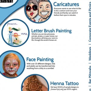 Retinal Delights - Face Painter / Temporary Tattoo Artist in Los Angeles, California