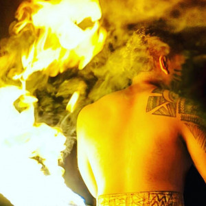 Rex Tiumalu World Champion Fire Dance - Fire Performer / Hawaiian Entertainment in Orlando, Florida