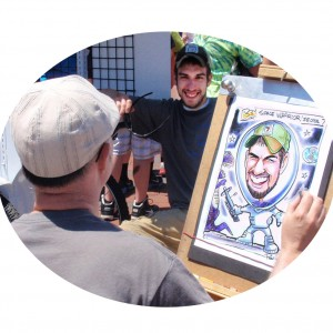 Rich Parsons Illustration - Caricaturist / College Entertainment in Westport, Massachusetts