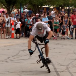 Rich Wieber's Bicycle Stunt Show - Acrobat / Balancing Act in Andover, Minnesota