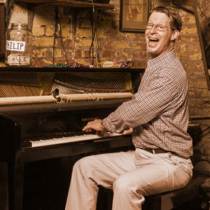 Richard Piano Scott - Dixieland Band in New Orleans, Louisiana