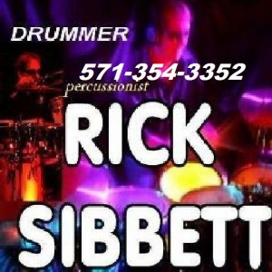 RICK SIBBETT, Professional Drummer/Percussionist - Drummer in Washington, District Of Columbia