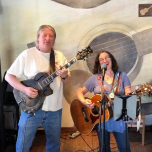 Rick Warren and Marilyn Miller - Acoustic Band in Hudson, New York
