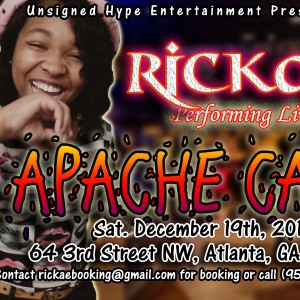 Rickae' - Hip Hop Artist in Ellenwood, Georgia