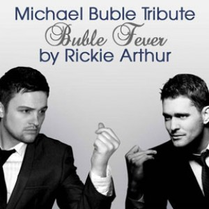 Rickie Arthur as Buble Fever - Crooner / Wedding Singer in Newport News, Virginia