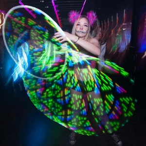 Rissa Linn Spins - Hoop Dancer in Seattle, Washington