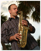 Hire Rj Tracy Saxophone Player In Tampa Florida