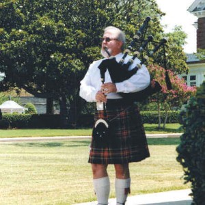 Rob Lockwood, Scottish Piper - Bagpiper / Wedding Musicians in Virginia Beach, Virginia