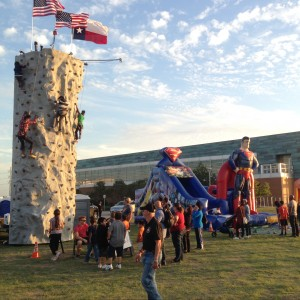 Rock climbing wall - Carnival Rides Company in Grand Prairie, Texas