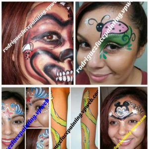 Rodriguez Face Painting - Face Painter in Sacramento, California