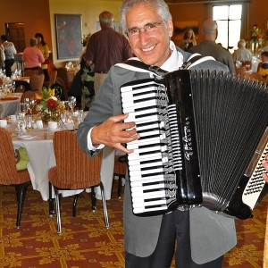 Ron Borelli - Accordion Player in San Mateo, California