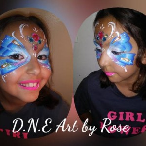 Rose - Face Painter in Los Angeles, California
