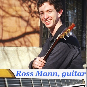 Ross Mann, guitar - Classical Guitarist in Philadelphia, Pennsylvania