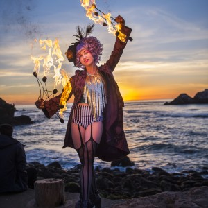 Roux Brûlée Fire Dancing - Fire Performer / Stilt Walker in Oakland, California