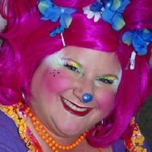 Roxy the Clown - Face Painter in San Diego, California