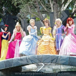 Royal Entertainers - Princess Party in Murrieta, California