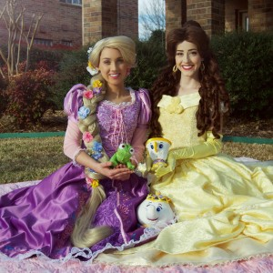 Royally Yours Princess Parties - Princess Party in McKinney, Texas