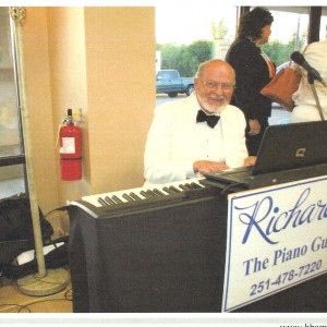 Richard The Piano Guy - One Man Band in Mobile, Alabama